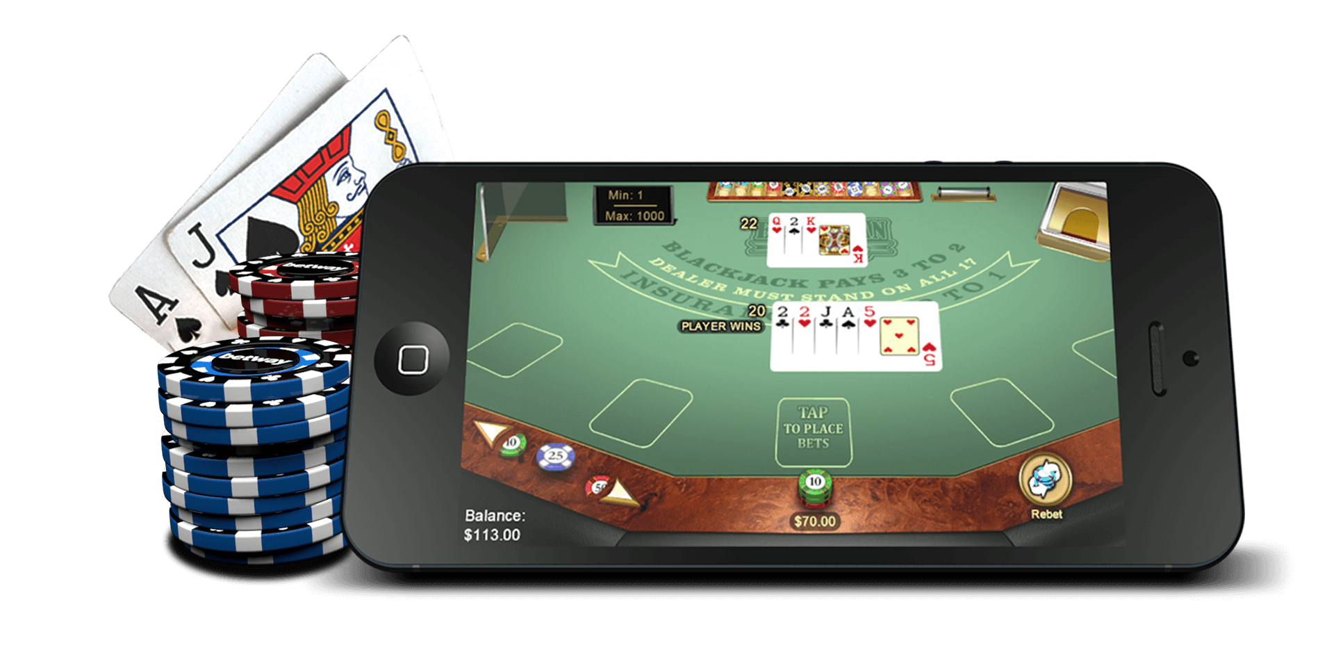 Where can i play blackjack online for real money