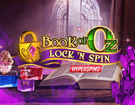 Slot Book of Oz Lock 'N Spin